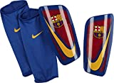 NIKE Mercurial Lite-FC BARCELO Espinilleras, Unisex Adulto, Rojo (Prime Red/Game Royal/University Gold), L