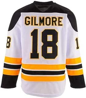 Custom Ice Hockey Movie Jersey Happy Gilmore #18 Sweater for Christmas Vacation