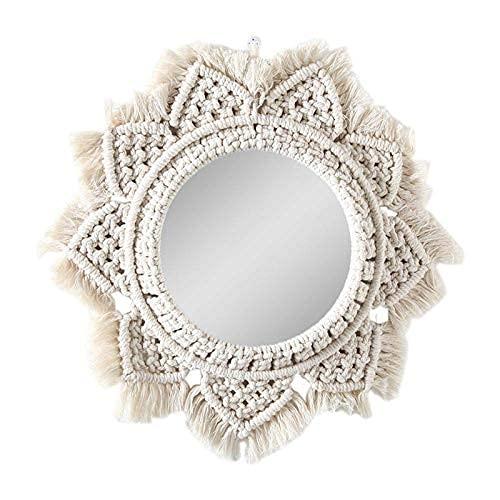 Espejos Pared Decorativos Macramé espejos pared  Marca CSPone