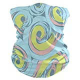 Zudrold Cute Fox in The Meadow Bandana Face Cover Seamless Dust Wind UV Sun Neck Gaiter para Mujeres Hombres