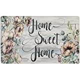 SoHome Cozy Living Anti-Fatigue Fall Kitchen Floor Standing Mat Runner Rug, Home Sweet Hom...