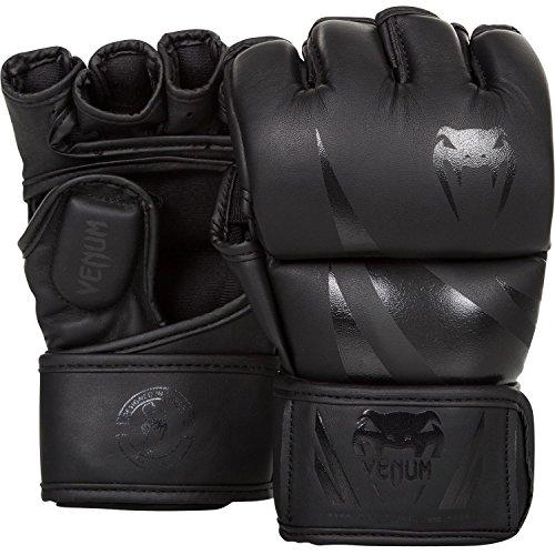 Venum Erwachsene Mma Handschuhe Challenger 2.0, Schwarz/Matt, M