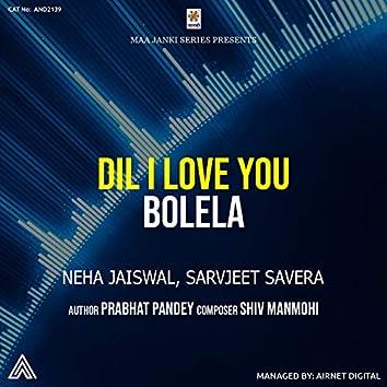 Dil I Love You Bolela