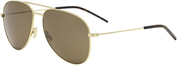 Yves Saint Laurent CLASSIC 11 021 59mm Gold / Brown Sunglasses
