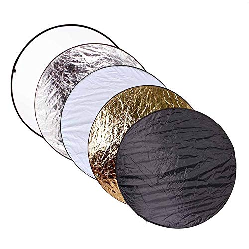KYEEY Filter Reflektoren Fotografie-Studio-Beleuchtung Reflektor Pop-Out faltbares weiches Diffusorscheibe Panel for Studio und Outdoor-Portrait Zusammenklappbarer Lichtreflektor