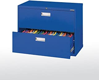 Sandusky Lee LF6A362-06 600 Series 2 Drawer Lateral File Cabinet, 19.25