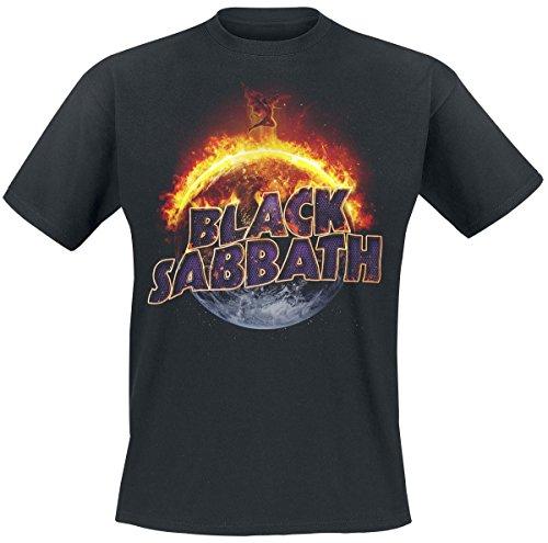 Black Sabbath The End T-shirt noir M