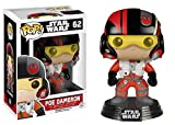 Funko Pop Star Wars - Figura de Vinilo PoE Dameron, Multicolor, 9 cm