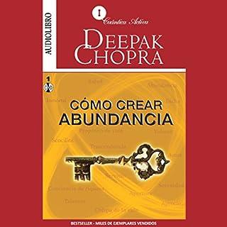 Cómo Crear Abundancia [Creating Affluence] audiobook cover art
