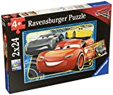 Ravensburger Disney Cars 3 I Can Win 2 In A Box 24 Piece Jigsaw Puzzle for Kids – Every Piece is Unique, Pieces Fit Together Perfectly