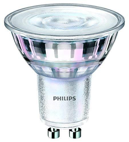 Philips LED Classic warmglow Glas Spot dimmbar, GU10, 5W