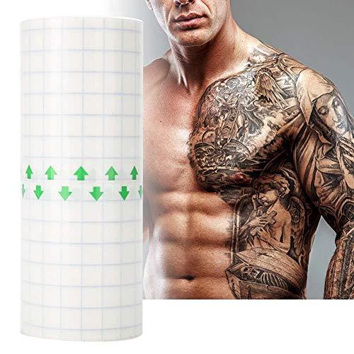 Wegwerp tattoo beschermfolie, rekbare folie van wenkbrauwen en lippen, conserveringsfilm voor tattoo make-up plasticfolie voor wenkbrauwlippen make-up, permanente transparante plastic bescherming