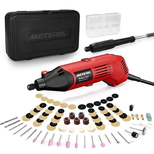 Rotary Tool, Meterk Multi-Functional Tool with 83pcs Accessories Kit Varible Speed 8000-35000rpm