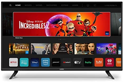 VIZIO 24 Inch D Series LED HDTV with Apple AirPlay and Chromecast Built in Screen Mirroring product image