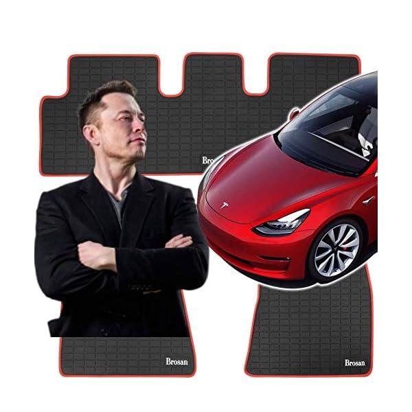 Nonslip Heavy Duty Rubber Mat for Tesla