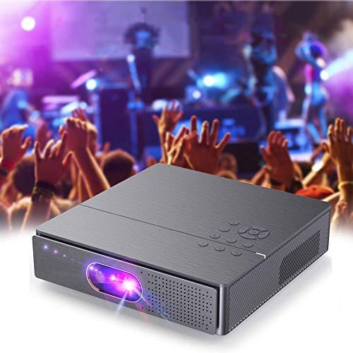 UUAVV Proyector 3D, Proyector WiFi, 4000 Lúmenes, Soporta 1080p Full HD, Cine en Casa 300' Duplicar Pantalla para Android Smartphone iPad,HDMI/USB/VGA/AV/SD