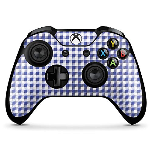 DeinDesign Skin kompatibel mit Microsoft Xbox One X Controller Aufkleber Folie Sticker Karo Picknick Oktoberfest