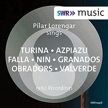 Turina, Azpiazu, Falla & Others: Spanish Songs