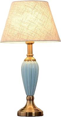 Lampe Américaine Chambre Simple, Lampe De Table en Céramique
