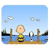 1X独自のスヌーピー漫画マウスパッドをカスタマイズする-JN407