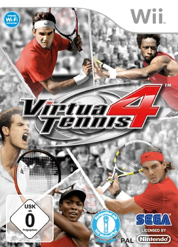 Virtua Tennis 4 [import allemand, jeu en français]