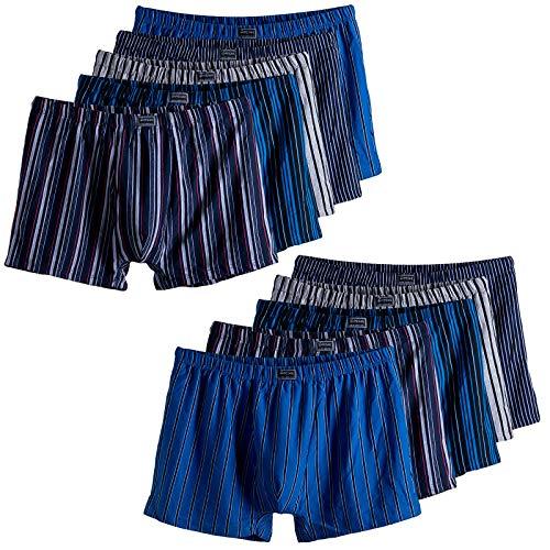 Pesail 6er Pack Herren Boxershorts Unterwäsche Retroshorts Unterhose 4XL 5XL 6XL 7XL Baumwolle Übergröße 5XL