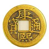 ZGZHIZ Cobre clásica China Monedas Cinco Emperadores y Seis emperadores Antiguos Monedas Antiguas dinastía Qing Cobre Puro auténticas Monedas de la Suerte Town House Qianlong Yongzheng (Color : B)