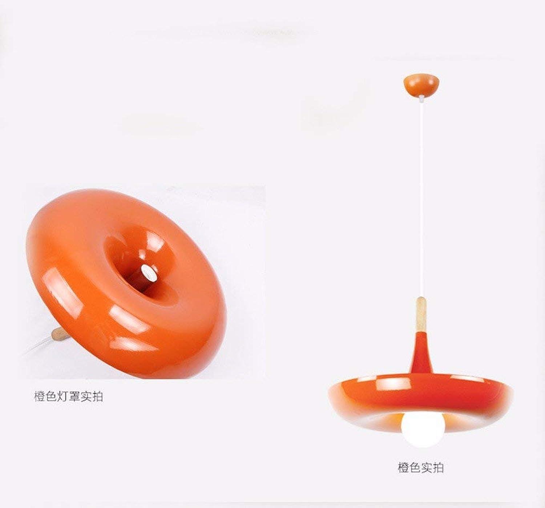 Xiao Fan   Pendelleuchte Kronleuchter Restaurant Licht Led Landhausstil Topfpflanzen Pflanze Orange 400 Mm