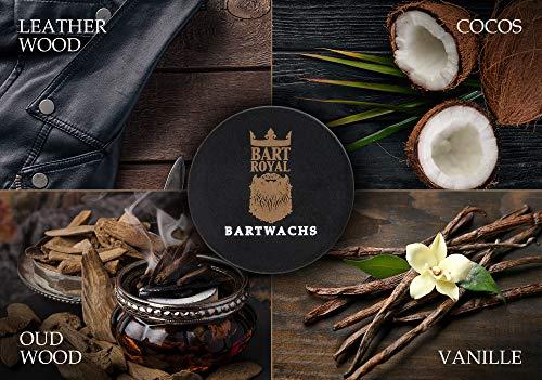 Bart Royal Bartwachs Vanille, für Pflege des Bartes Abbildung 3