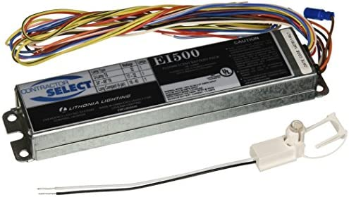 Lithonia Lighting EI500 M12 Contractor Select 500 Lumen Emergency Ballast for Fluorescent Fixtures product image