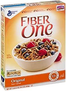 Fiber One Cereal, Original Bran, Whole Grain Cereal, 16.2 oz