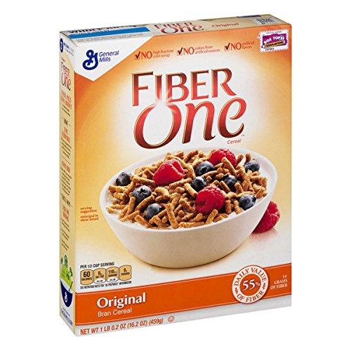 Fiber One Cereal, Original Bran, Whole Grain Cereal, 19.6 oz