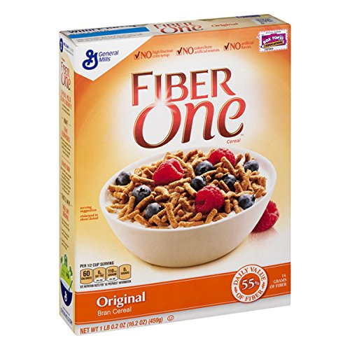 commercial Fiber 1 Granola, Original Bran, Whole Wheat, 16.2 oz fiber cereals
