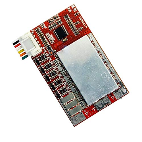 WSDMAVIS 1Pcs 4S/5S 50A 3.7V 18650 Polymer Lithium Battery Cell PCB BMS Charge Protection Board with Balance