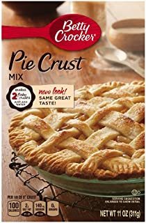 Betty Crocker Pie Crust Mix, 11 oz Box (Pack of 12)