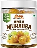 SeAro 100% Natural Amla Murabba. Export Quality Aawla Murabba with Less Sugar. Traditionally Prepared Fresh in Small Batches, 950 g