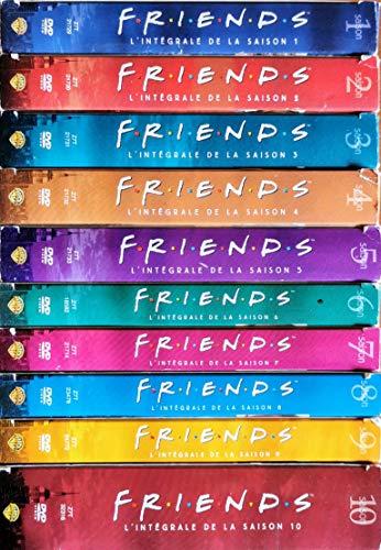 FRIENDS, intégrales des saisons 1 à 10. Lot de 10 Coffrets, 38 DVD.