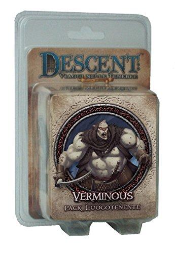 Giochi Uniti GU243 – Descent zweite Edition Pack Luogotenente Verminous Italienische Edition
