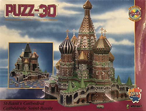 Puzz3D St. Basil's Cathedral - Moscow