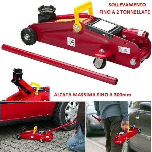 Compatibel met Lotus Exige Spider hydraulische krik voor autobanden met krik tot 2 ton.