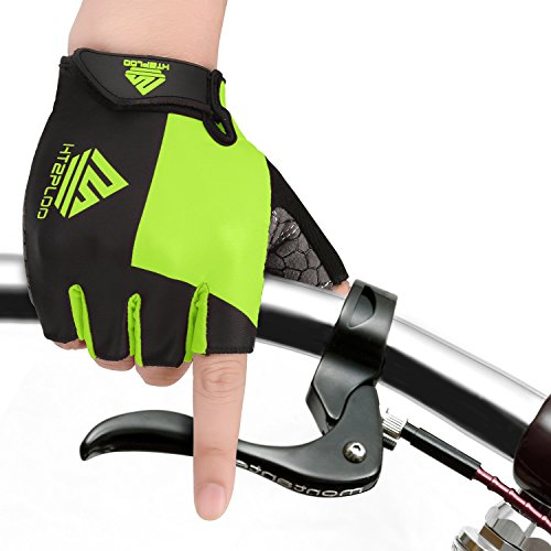 HTZPLOO Bike Gloves - best mountain bike gloves for hot weather