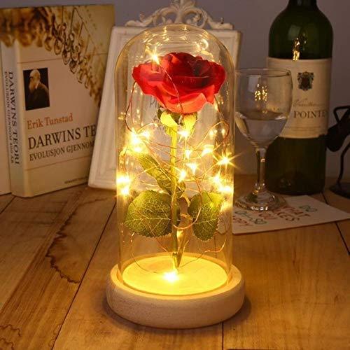 Led-lichtsnoer, LED decoratieve, op batterijen werkende lichtketting, voor slaapkamer, Kerstmis bruiloft verjaardag indoor outdoor gebruik (kleur: beige)