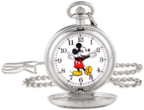 Disney Men's 56403-3467 Mickey Mouse Pocket Watch