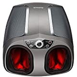 Nekteck Shiatsu Foot Massager Machine with Heat, Air Compression, Deep Rolling...