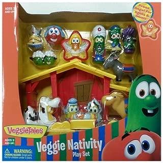 veggie tales nativity scene