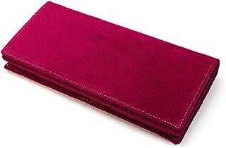 PIG-S1075 長財布 メンズ レディース 豚革 革 ブタ革 無双 通しまち 小銭入れなし ピッグスキン 全8色
