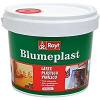 Rayt 156-23 Blumeplast M-10: Látex plástico, imprimación y sellador de superficies de yeso, cemento, estuco, madera, cerámica, puzzles. Enriquecedor de pinturas. Secado transparente, 5kg