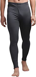 HEAT HOLDERS - Mens Winter Warm Cotton Thermal Underwear Bottoms Long Johns