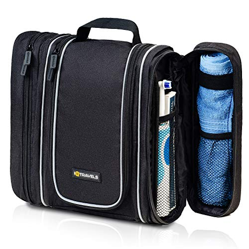 3IN1 Hanging Toiletry Bag for Men - Cosmetic Organizer for Men | Travel Size...