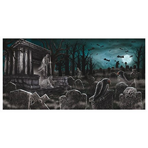 Amscan International 120191 1,65 m x 85 cm Haunted House horizontale banner